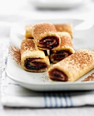 Small low-fat rolled cakes