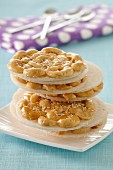 Asian cashew cookies