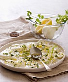 Fennel salad with lemon and coriander