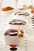 Chocolate cream dessert with Espelette pepper
