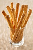 Sesame seed bread sticks