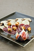 Cep and duck magret carpaccio