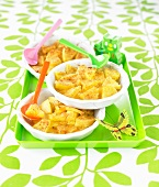Oven baked pineapple