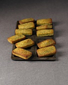 Green tea mini Financiers
