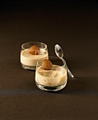 Candied chestnut panna cotta