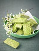 Green tea Financiers