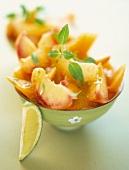 Pfirsich-Melonen-Süppchen