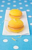 Lemon curd Whoopies