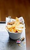 Vinager potato crisps
