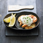 Salmon and ricotta Raclette