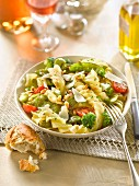 Fusilli lunghi with vegetables