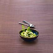 Zucchini tagliatelles