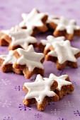 Cinnamon gingerbread stars