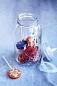 Jar of lollipops
