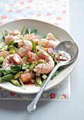 Dublin Bay prawn and grapefruit salad