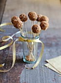 Gingerbread and foie gras savoury popcakes