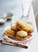 Bacon whoopies
