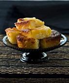 Peach and tapioca pudding