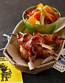 Chicken Satay brochettes