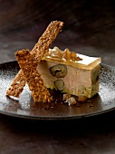 Foie gras and candied chestnut terrine