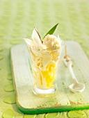 Pina Colada-style sundae