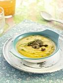 Pureed vegetables with mushrooms