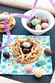Easter egg tartlet