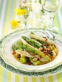 Oriental-style asparagus