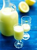 Limoncello cream
