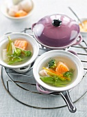 Fish and vegetable broth