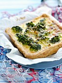 Broccoli and Beaufort tart