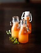 Apple,orange and carrot juice
