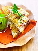 Tartiflette open sandwiches