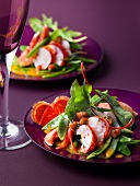 Lobster salad with mango vinaigrette