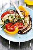 Gegrilltes mediterranes Gemüse