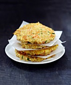 Bulghour and vegetable patties