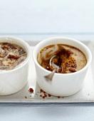 Spéculos-coffee cream dessert
