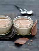 Milk chocolate and Michoko yoghurt