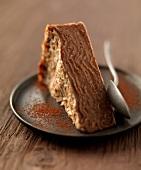 Chocolate-pancake pudding