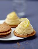 Lemon tartlet from Brittany