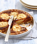 Pear and ginger cream tart