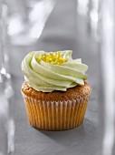 Lemon and lime cupcake