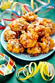 Carnaval fruit fritters