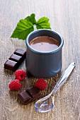 Chocolate yoghurt