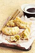 Pekinese cabbage raviolis
