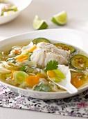 Cod and vegetable detox Waterzoï