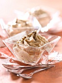 Vanilla-flavored chestnut mousse