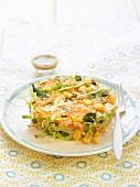 Quinoa, carrot, sweetcorn, cabbage and bean salad