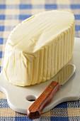 Slab of butter