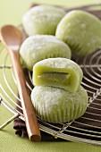 Green tea Mochis